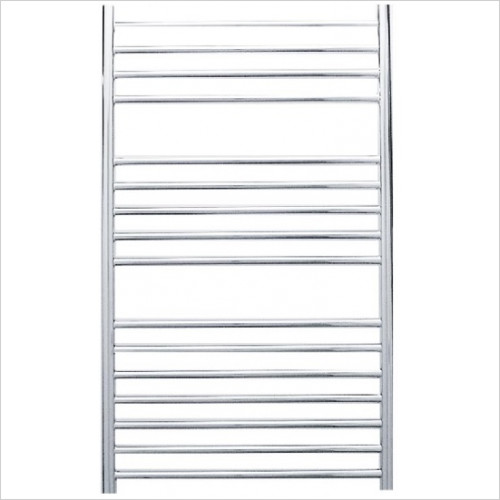 JIS Sussex - Steyning Cylindrical Electric Flat Front Towel Rail 1000x620