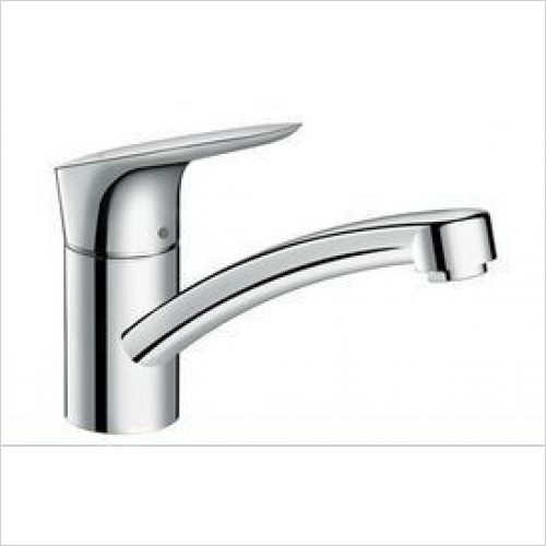 Hansgrohe - Logis Kitchen Mixer 120 Swivel Spout Low Pressure