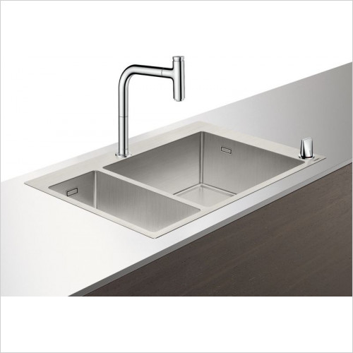 Hansgrohe - C71-F655-09 Sink Combination 180 x 450mm