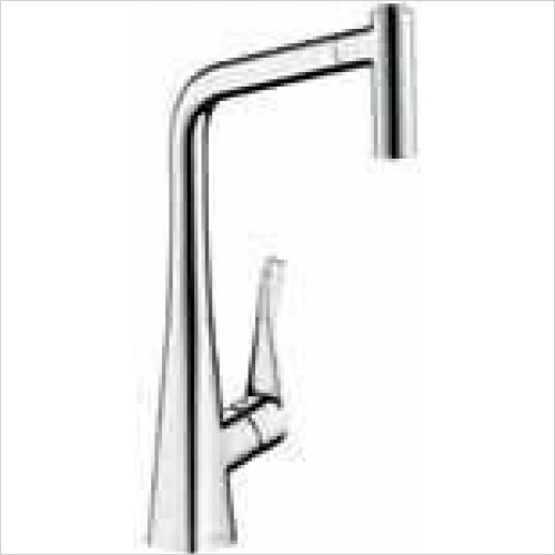 Hansgrohe - Metris Single Lever Kitchen Mixer With Pull-Out Spray