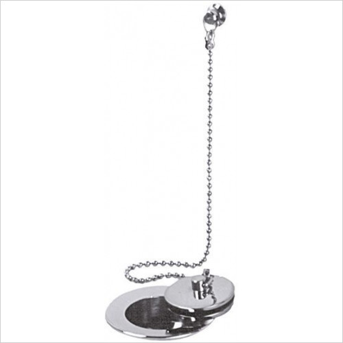 Vado - Basin Waste Metal Plug & Chain 1 1/4''