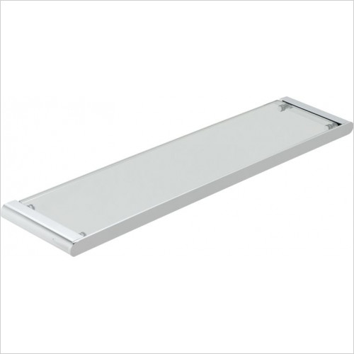 Vado - Photon Clear Glass Shelf 573mm (23'')