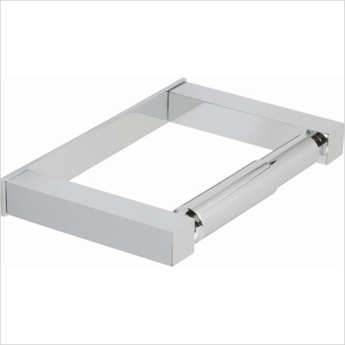 Vado - Square Closed Paper Holder Wall Mounted
