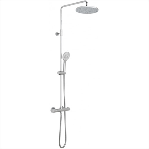 Vado - Velo Round Shower Column