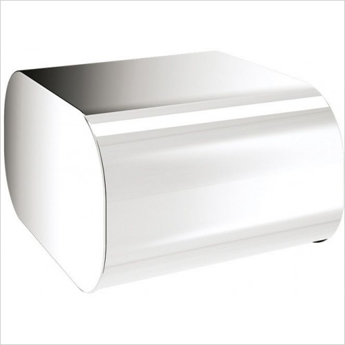 Bathroom Origins - Gedy Outline Toilet Roll Holder With Cover