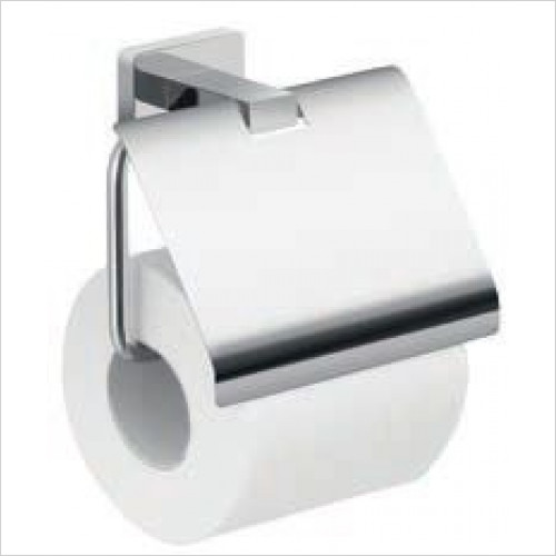 Bathroom Origins - Gedy Atena Toilet Roll Holder With Flap