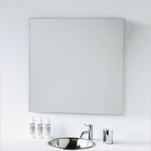 Bathroom Origins - Slim Square Mirror 800x800mm