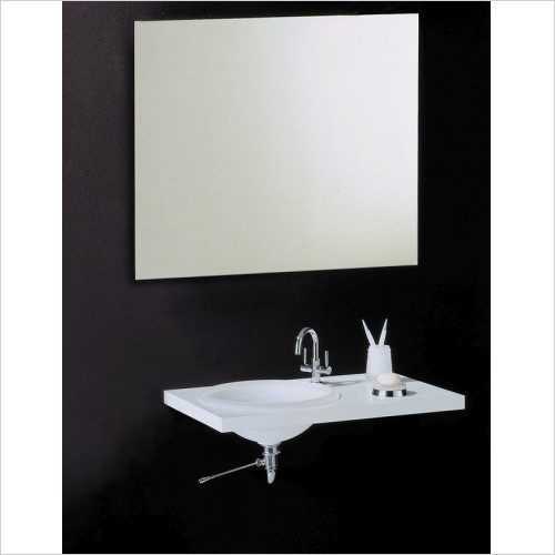 Bathroom Origins - Slim Rectangular Mirror 800x1000mm