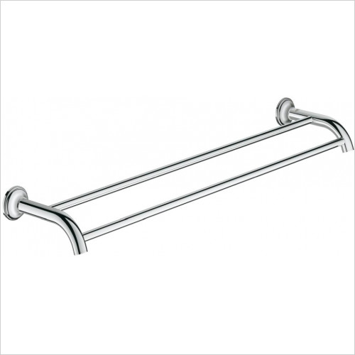 Grohe - Essentials Authentic Double Towel Rail