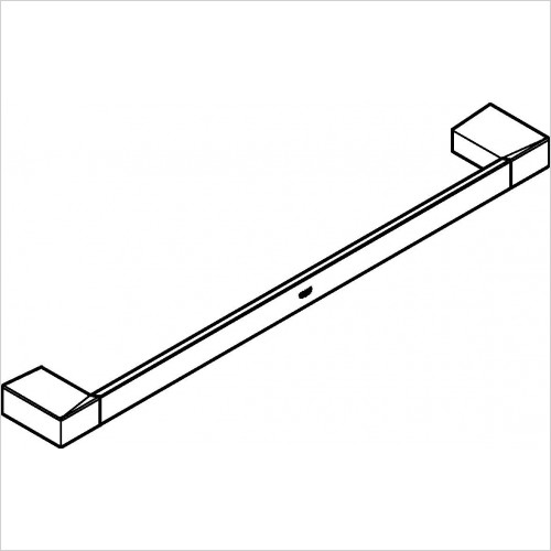 Grohe - Selection Cube Towel Rail
