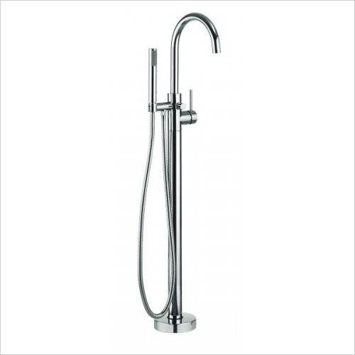 Crosswater - Fusion Floorstanding Bath Shower Mixer With Kit