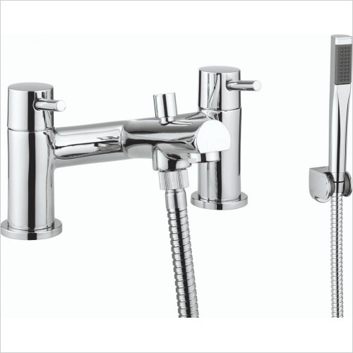 Crosswater - Globe2 Bath Shower Mixer Dual Lever With Kit