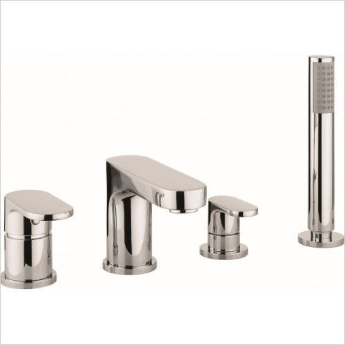 Crosswater - Style Bath Shower Mixer 4 Hole With Kit