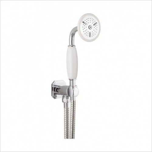 Crosswater - Belgravia Wall Mounted Shower Handset, Wall Outlet & Hose