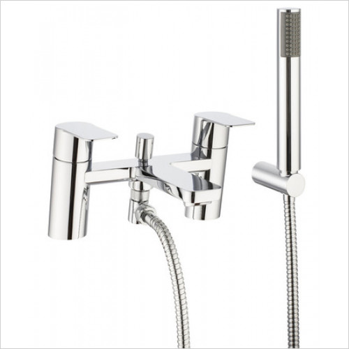 Crosswater - Zero Six Deck Mounted Bath Shower Mixer With Kit