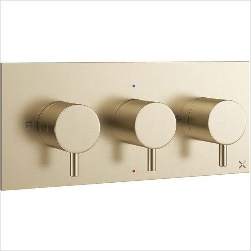 Crosswater - MPro Thermo Valve 2 Outlet - Landscape