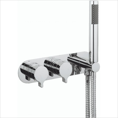 Crosswater - Svelte Thermo Shower Valve 2 Control (Landscape)