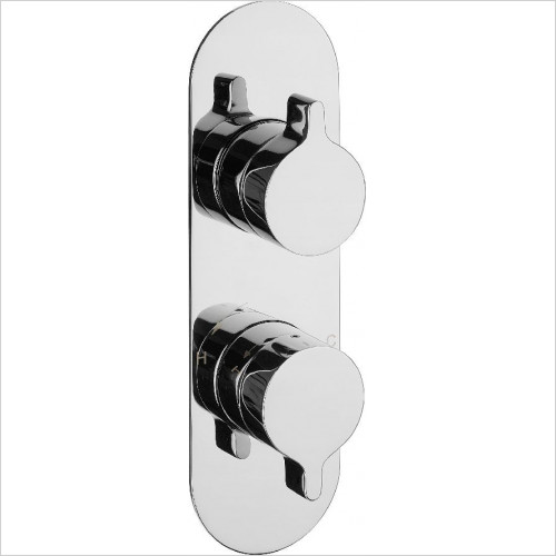 Crosswater - Svelte Thermo Shower Valve 3 Way Diverter