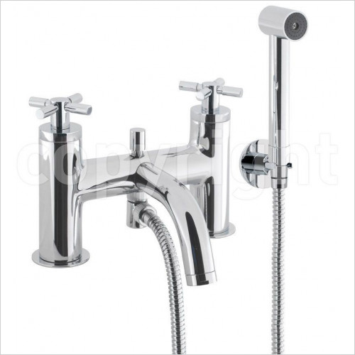 Crosswater - Totti Bath Shower Mixer Wth Kit, Deck Mounted