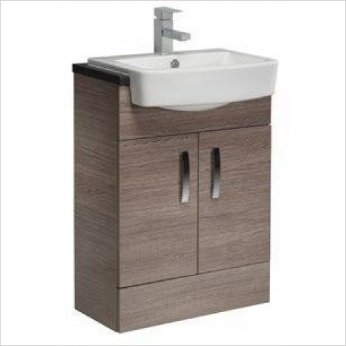 Tavistock Bathrooms - Courier 600mm 2 Door Unit