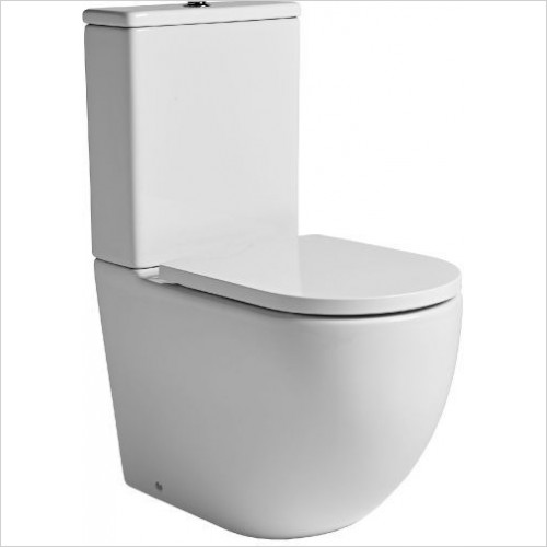 Tavistock Bathrooms - Orbit 620mm Fully Enclosed Close Coupled Pan
