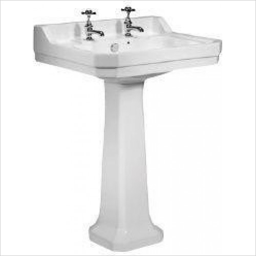 Tavistock Bathrooms - Pedestal For Vitoria Hand Wash Basin DB850CLS
