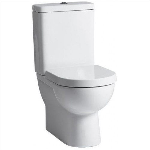 Tavistock Bathrooms - Ion/Micra Fully Enclosed Close Coupled Back To Wall WC Pan