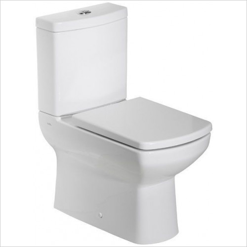 Tavistock Bathrooms - Vibe Close Coupled WC Pan, Flush Fitting