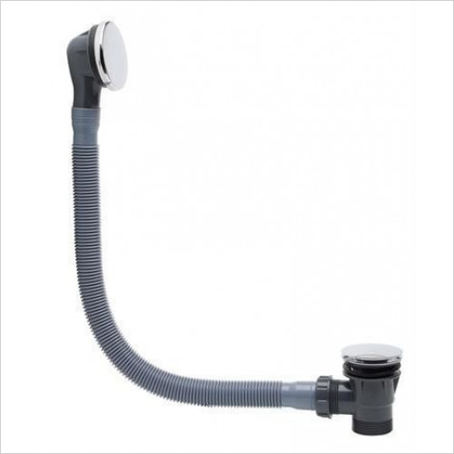 Tavistock - Click Bath Waste & Overflow, 670mm Hose