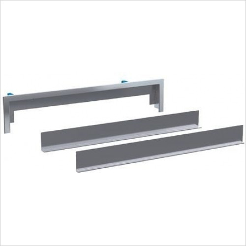 Geberit - Ready-To-Fit Set For Wall Drain, Tile-Bearing, Multi-Piece