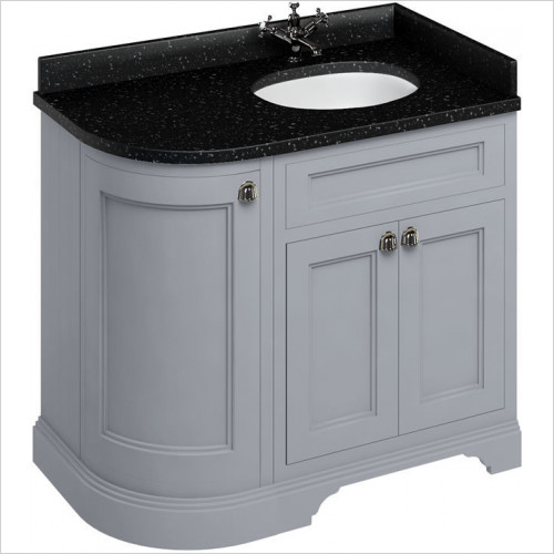 Burlington - Minerva 980 RH Top With Vanity Bowl For FC3 & FW6