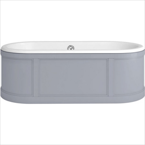 Burlington - London Surround Bath With Panels (Includes Waste)