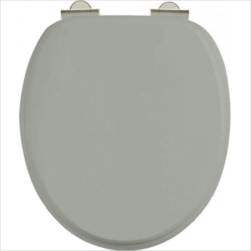 Burlington - Soft Close Toilet Seat With Chrome Finish Hinge