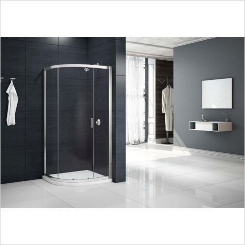 Merlyn - 1 Door Quadrant 800 x 800mm