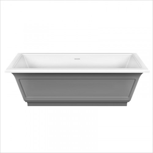 Gessi - Eleganza Freestanding Bathtub External Lacquering Waste Inc