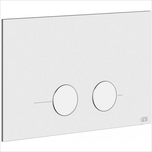 Rilievo/316 Cover Plate Geberit Sigma 8 & 12