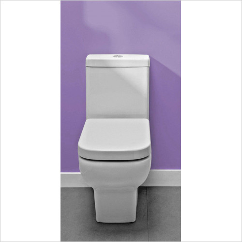Tavistock Bathrooms - Mini 620 Projection Close Coupled Toilet WC Soft Seat