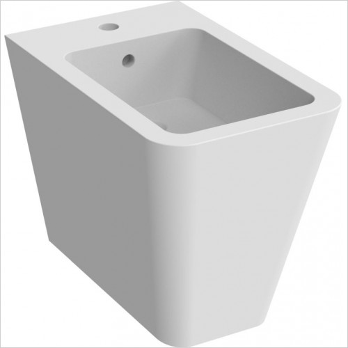 Saneux - Icon Square Back To Wall Bidet