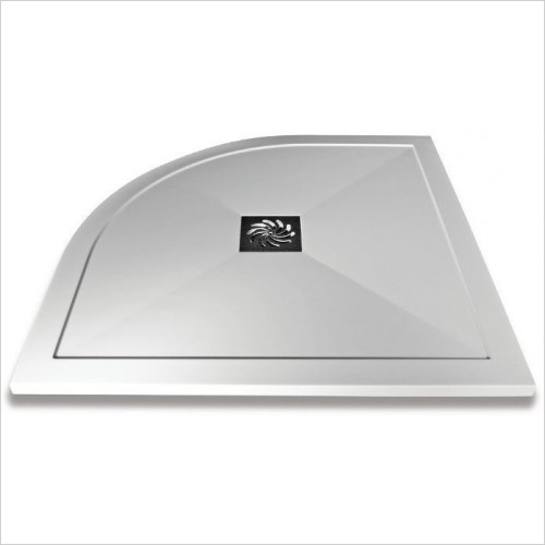 Saneux - H25 Shower Tray Square 900 x 900mm - Anti Slip