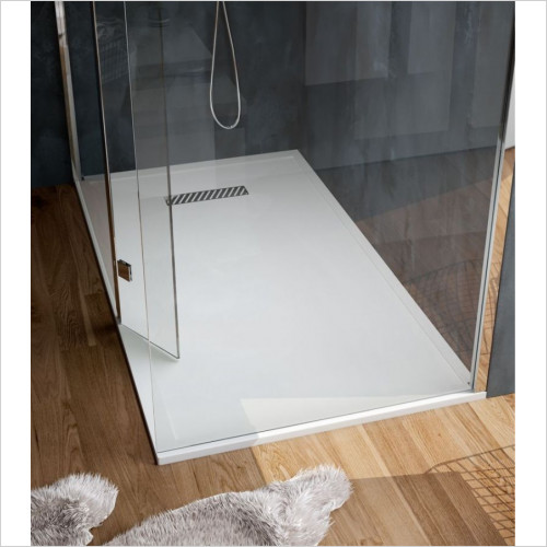 Saneux - L25 Linear Shower Tray 900 x 900mm Quadrant