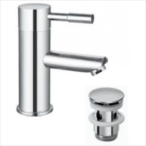 Saneux - Pascale Basin Mixer Including Slotted Clicker Waste