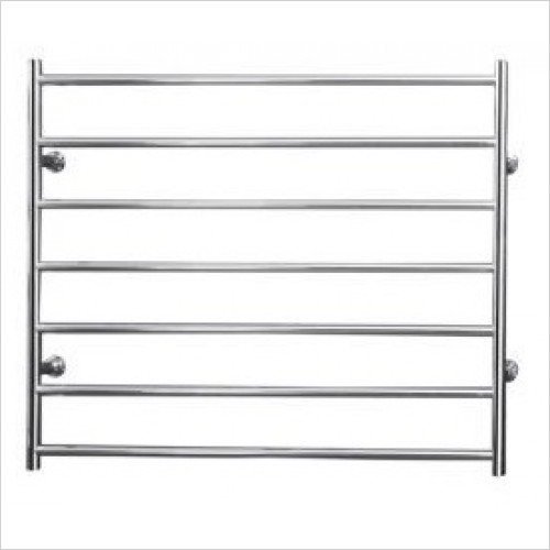 Saneux - 690 x 900mm Dry Electric Towel Rail Switched