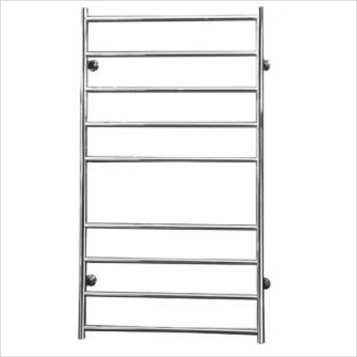 Saneux - 1000 x 600mm Dry Electric Towel Rail Switched