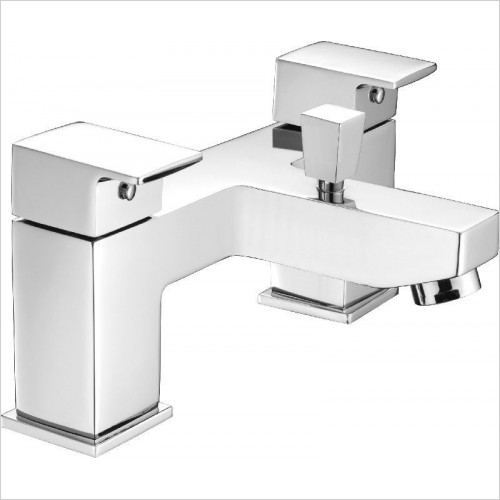 Saneux - Tooga Deck Mounted Bath Shower Mixer, Low Pressure