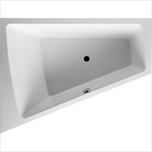 Duravit - PaioVA Bathtub 1800x1400mm Corner Left Built-In Support Fram