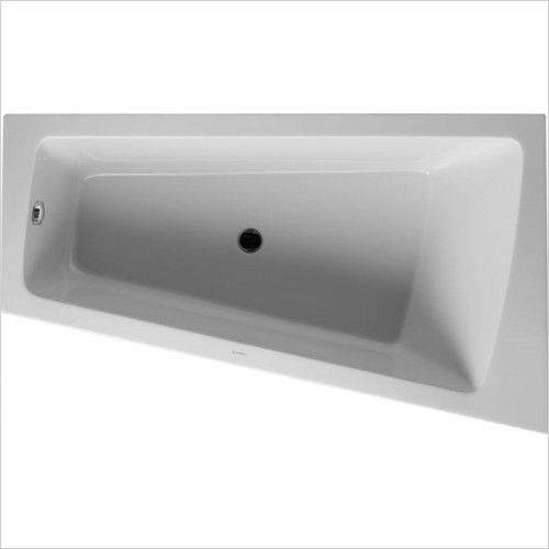Duravit - PaioVA Bathtub 1700x1000mm Corner Right With Integrated Pane