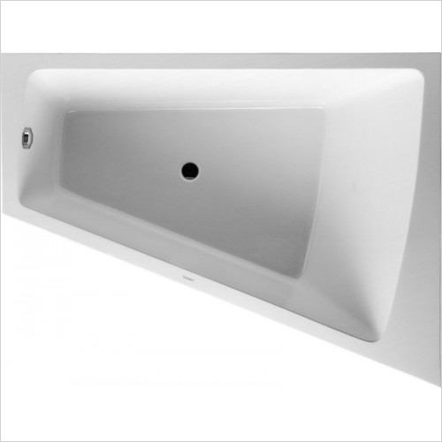 Duravit - PaioVA Bathtub 1800x1400mm Corner Right With Integrated Pane