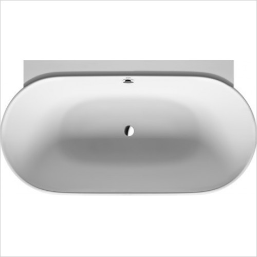 Duravit - LUV 1800x950mm Back To Wall With Two Backrest Slopes