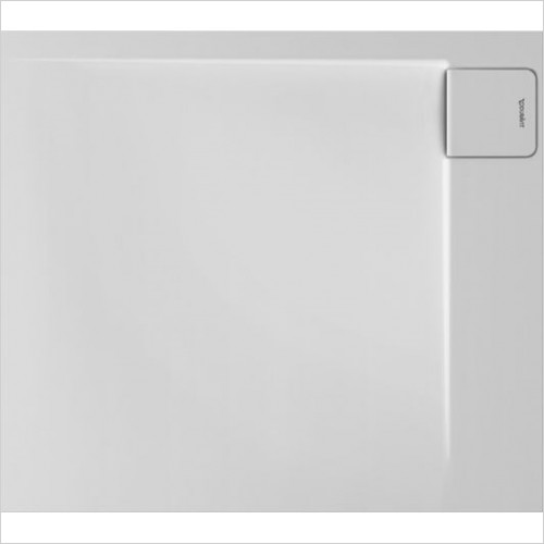 Duravit - P3 Comforts Shower Tray 900x800mm Rectangle Corner Right