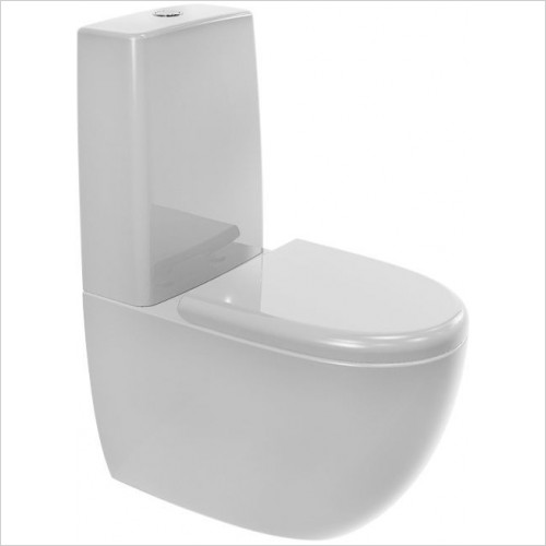 Cifial - A1 Back To Wall Close Coupled WC Pan & Seat